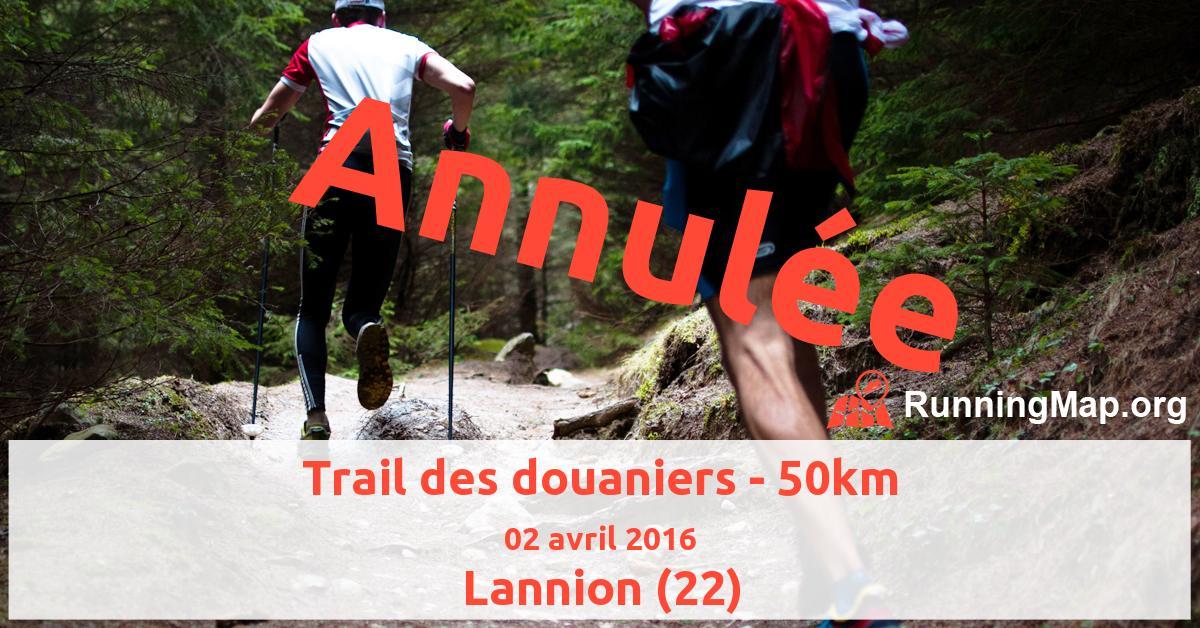 Trail des douaniers - 50km