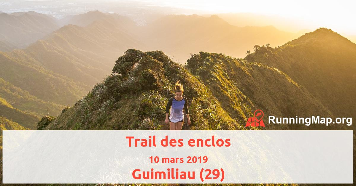 Trail des enclos