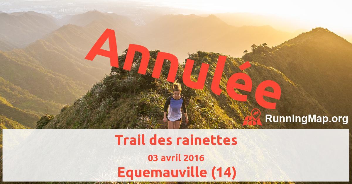 Trail des rainettes