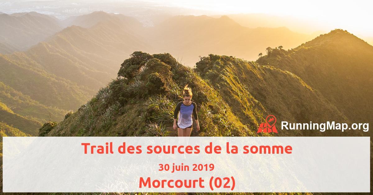 Trail des sources de la somme