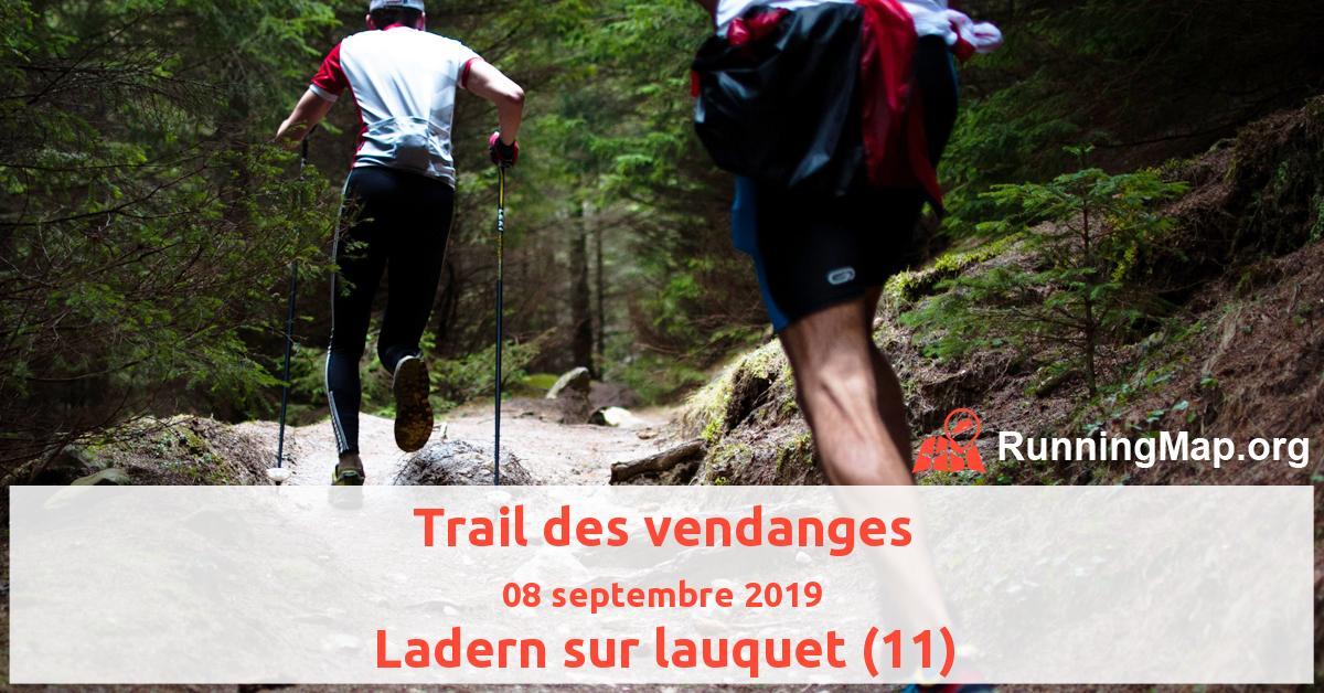 Trail des vendanges
