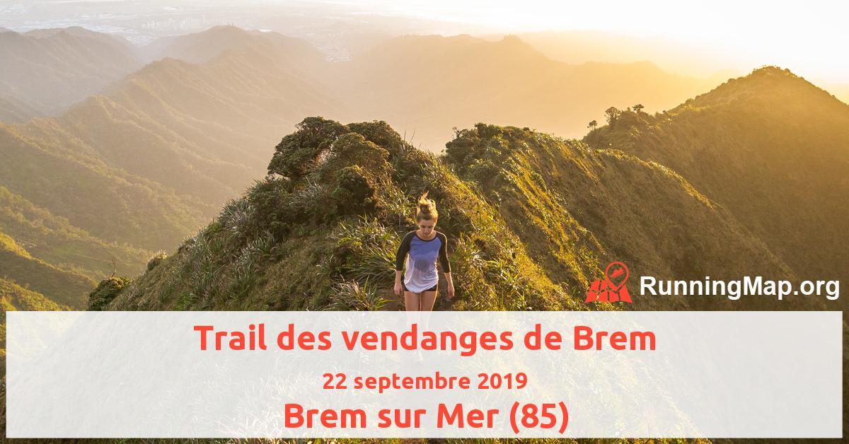 Trail des vendanges de Brem