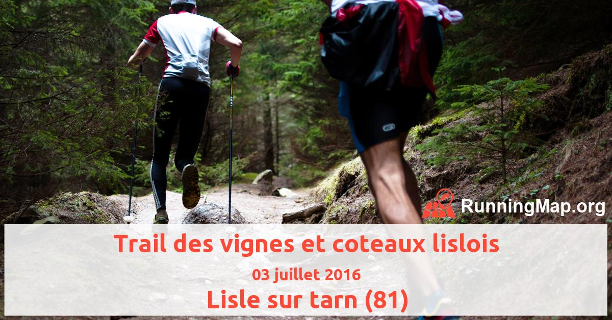Trail des vignes et coteaux lislois