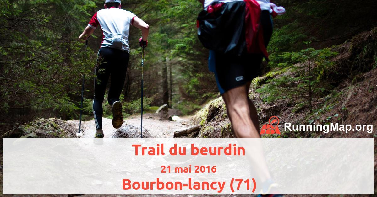 Trail du beurdin