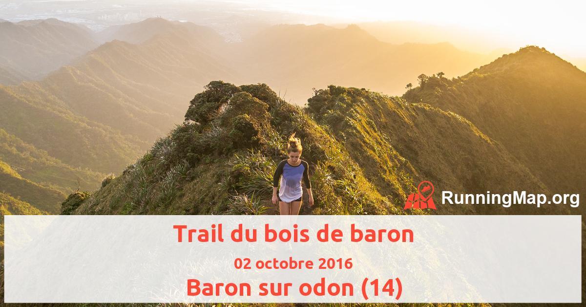 Trail du bois de baron