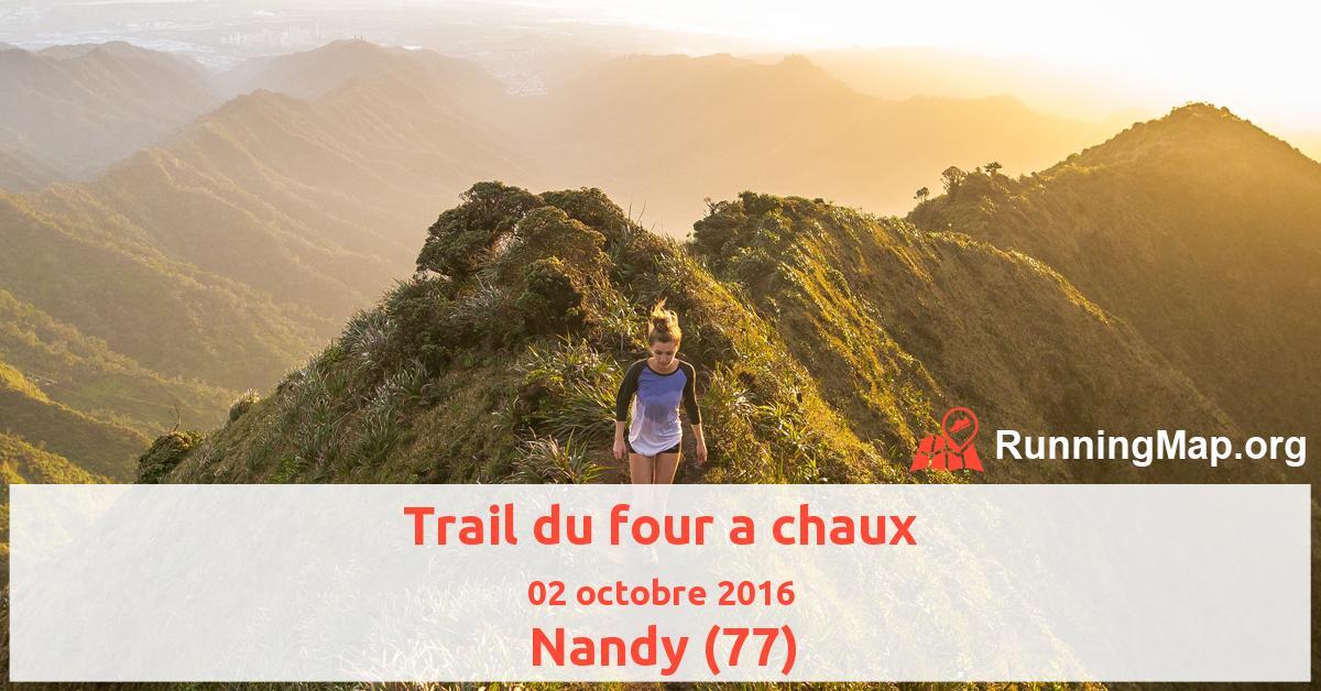 Trail du four a chaux