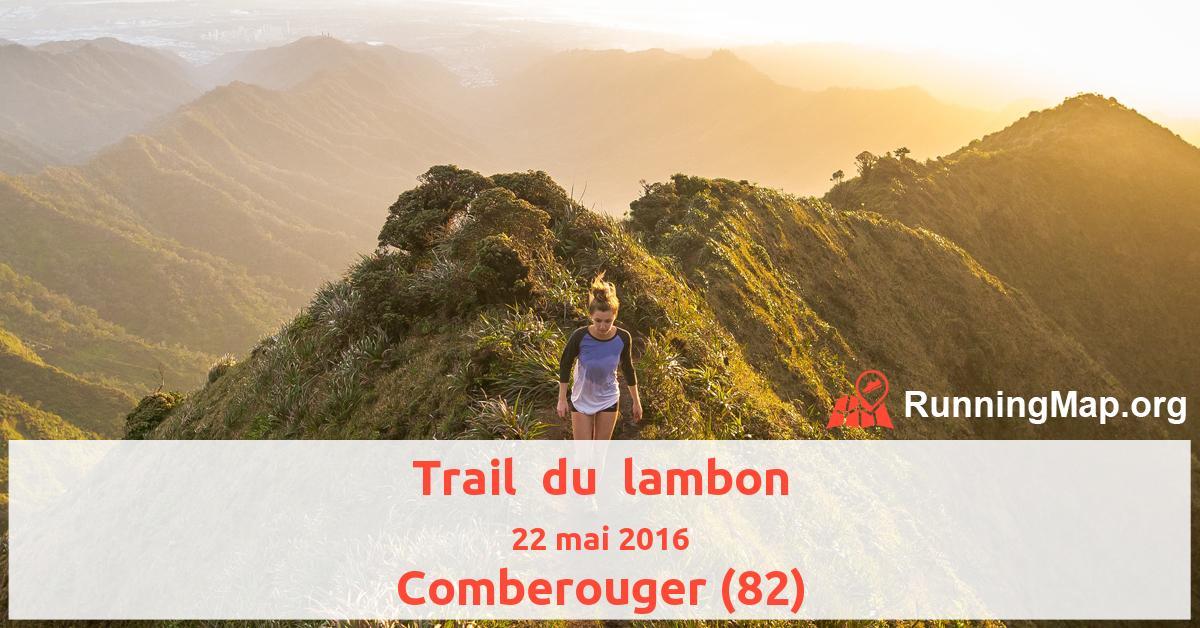 Trail  du  lambon