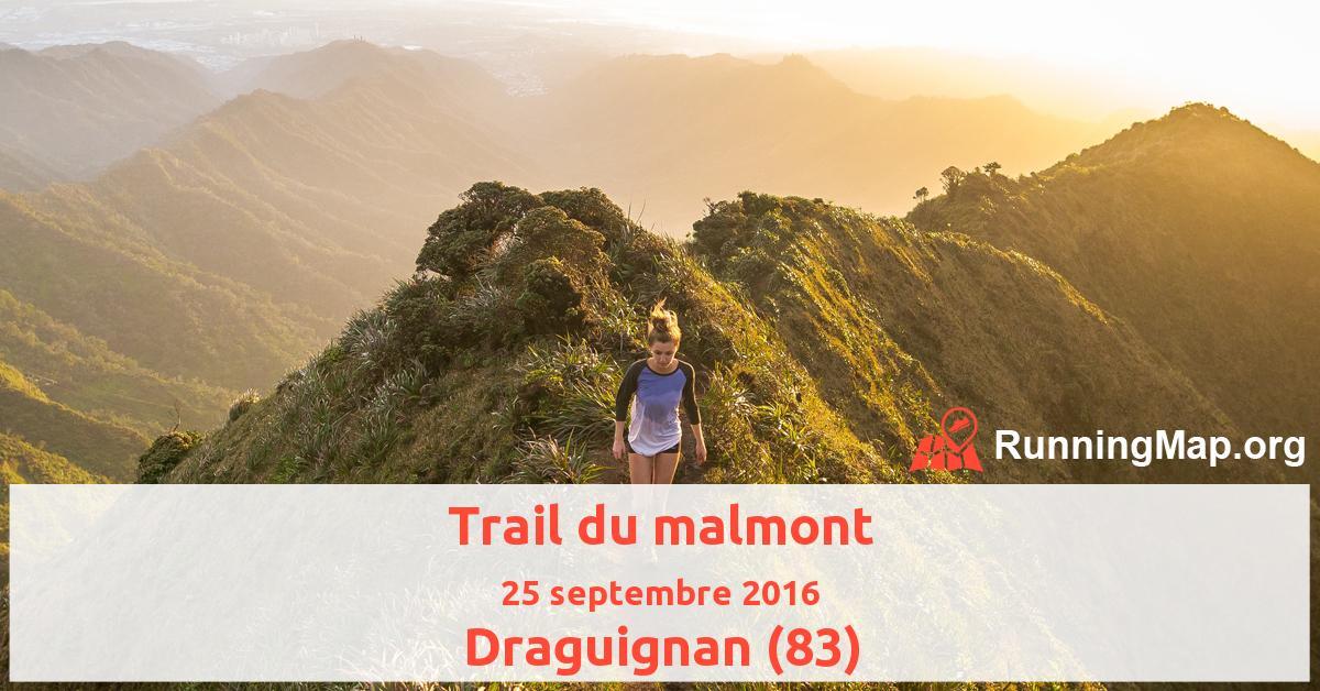 Trail du malmont
