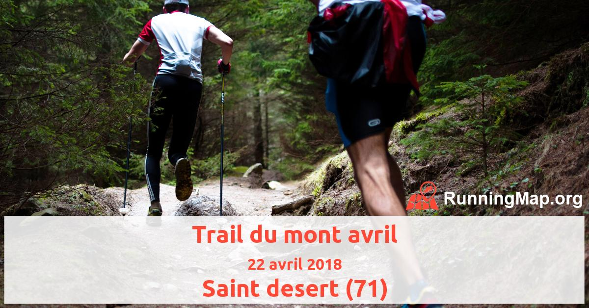 Trail du mont avril