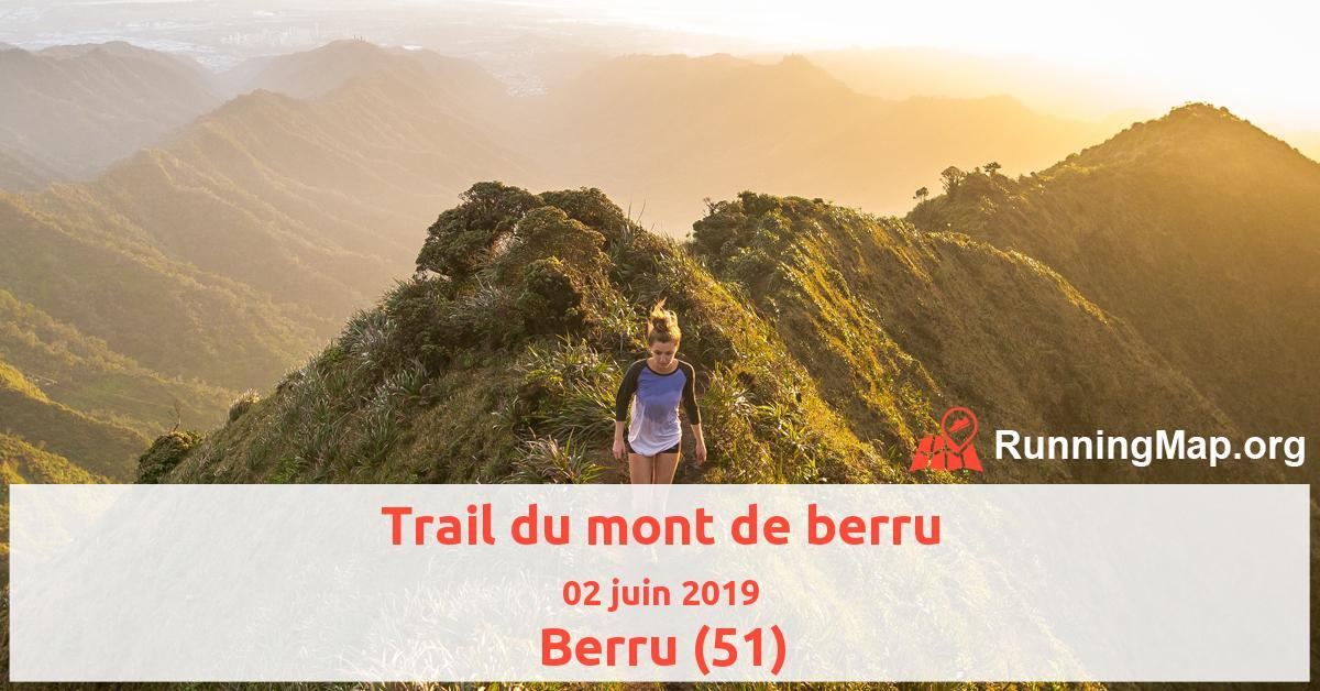 Trail du mont de berru