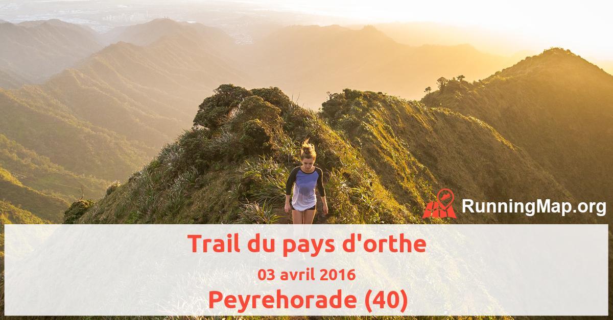 Trail du pays d'orthe
