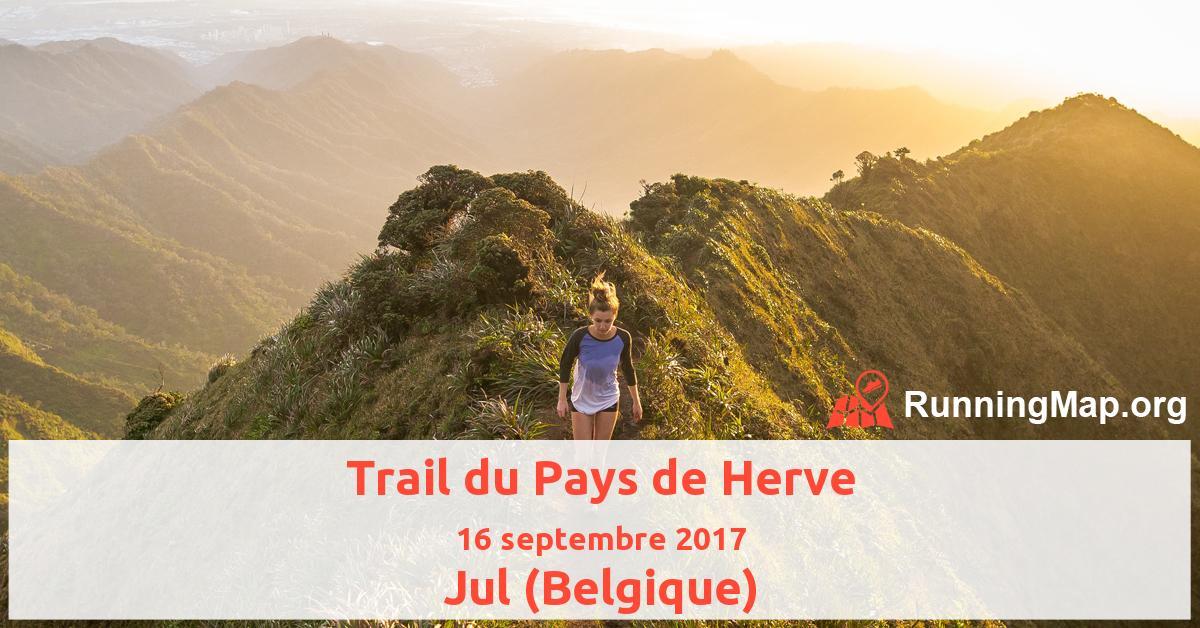 Trail du Pays de Herve