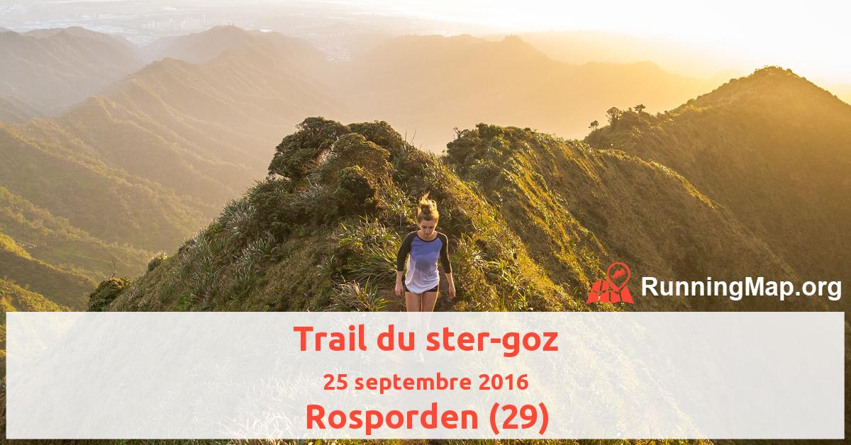 Trail du ster-goz