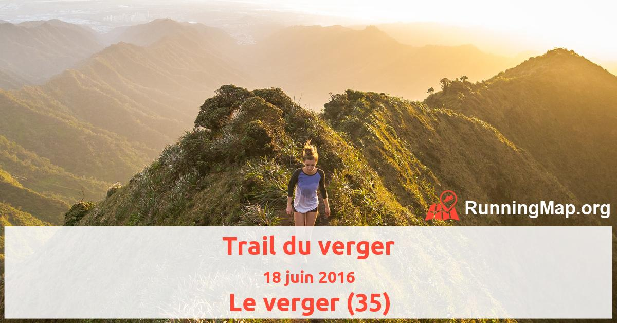 Trail du verger