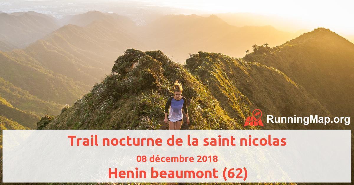 Trail nocturne de la saint nicolas