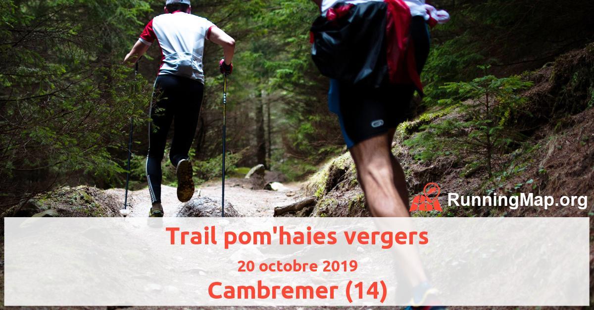 Trail pom'haies vergers