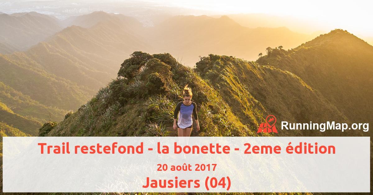 Trail restefond - la bonette - 2eme édition