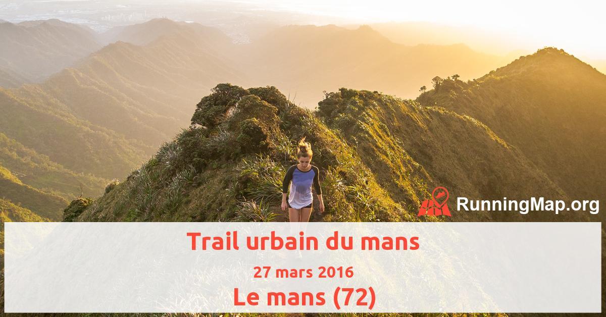 Trail urbain du mans