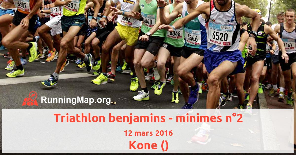 Triathlon benjamins - minimes n°2