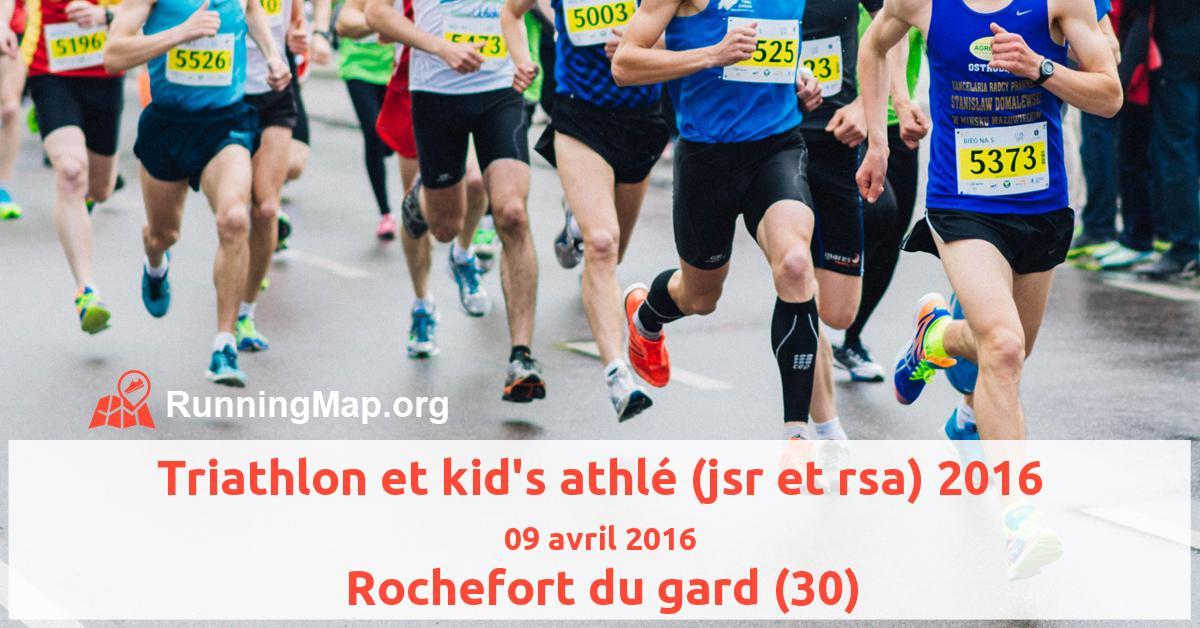 Triathlon et kid's athlé (jsr et rsa) 2016