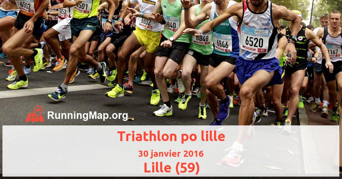 Triathlon po lille