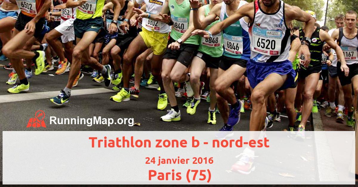 Triathlon zone b - nord-est