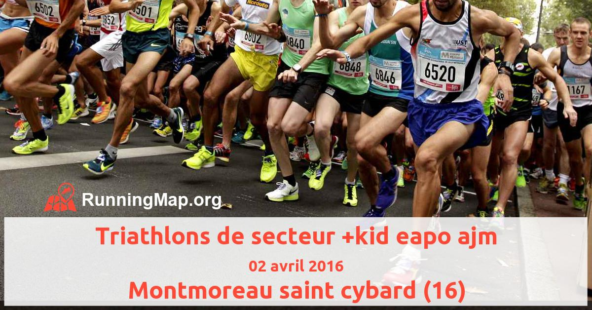 Triathlons de secteur +kid eapo ajm