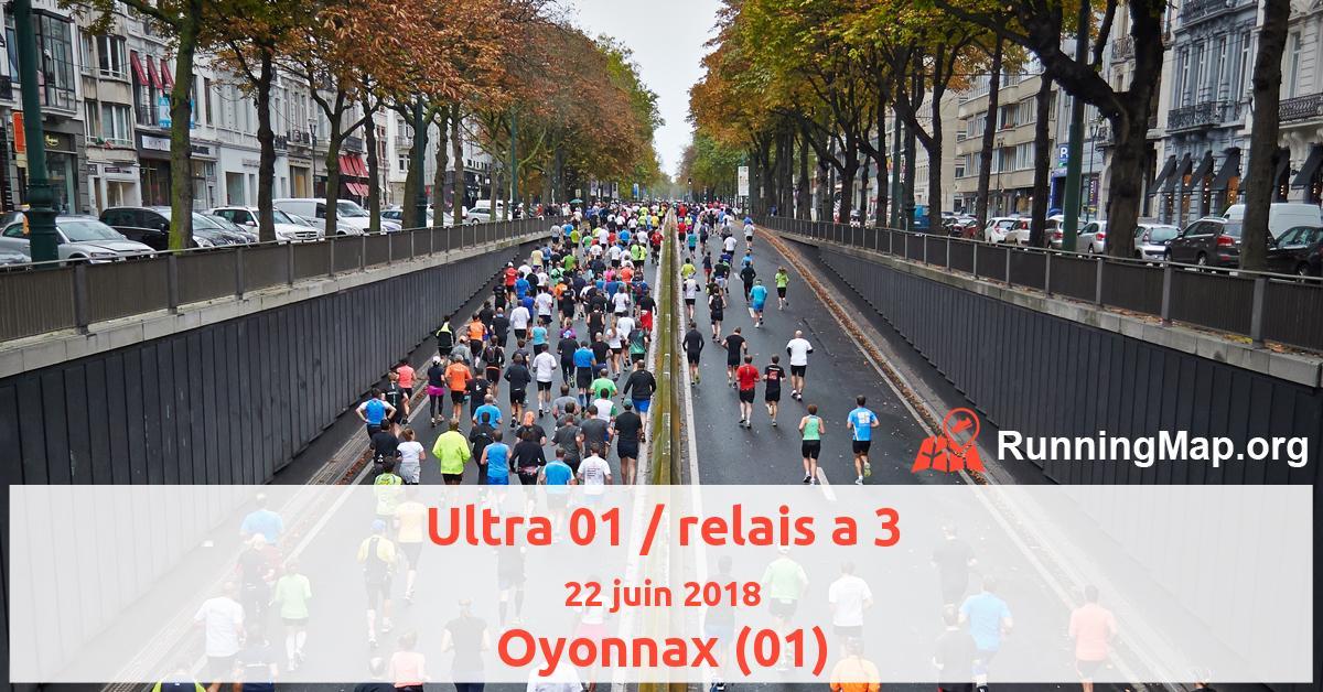 Ultra 01 / relais a 3
