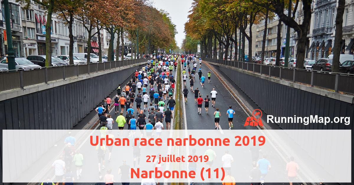 Urban race narbonne 2019