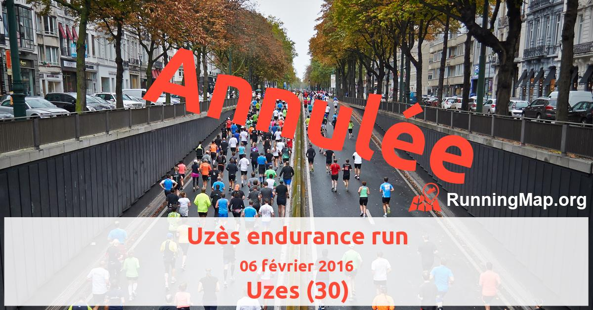 Uzès endurance run