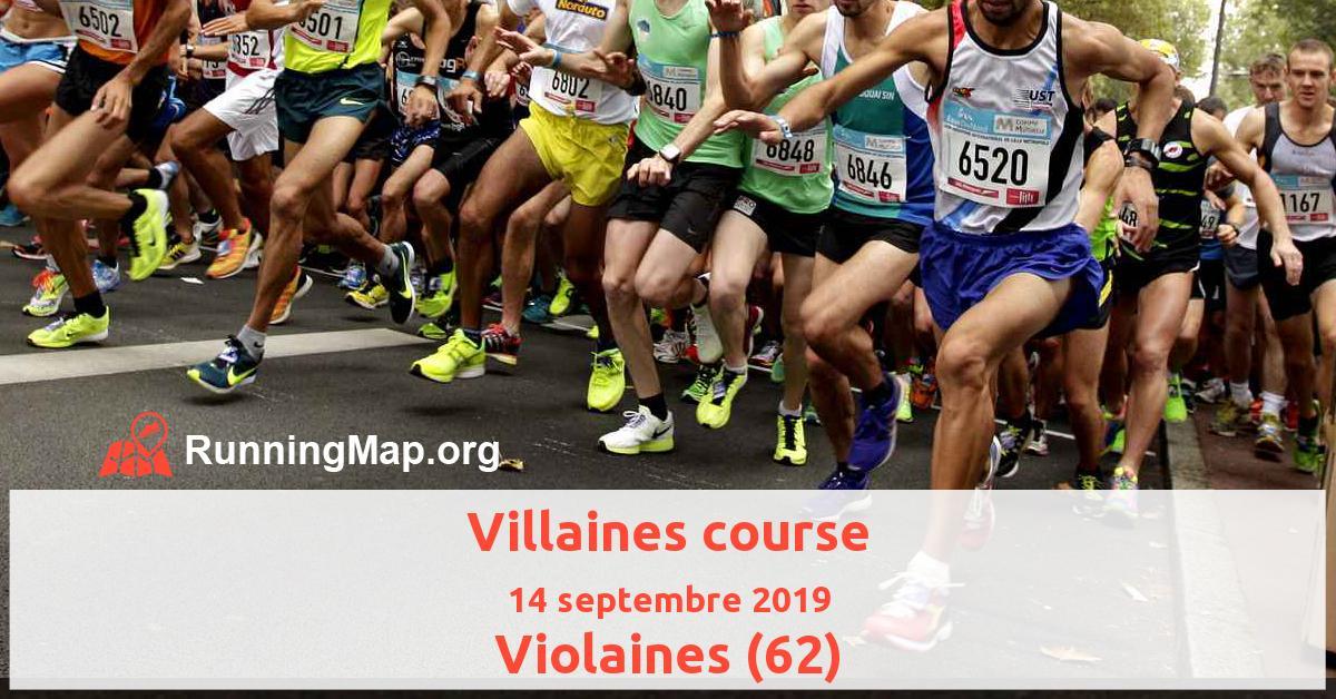 Villaines course